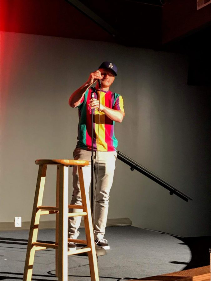 Funny Guy: Q&A with Zach Gish, stand-up comedian and senior