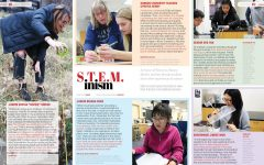 In honor of Women's History Month, teacher, female students share their experiences in science