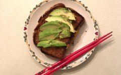 Senior Hannah Liu uses extra free time to cook