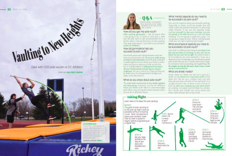 Q&A with CHS pole vaulter at DC Athletics