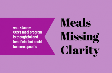 Meal assistance program helps families but should have clearer information