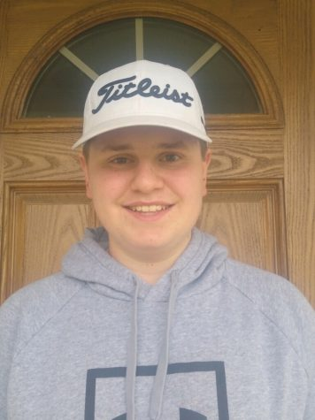 Sean Grove, men's golfer and sophomore, poses for a photo. Grove said the coronavirus will not have a great impact on golfers since golf is mostly an individual sport.