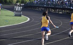 Navigation to Story: Reagan Smiley, women's track runner and senior