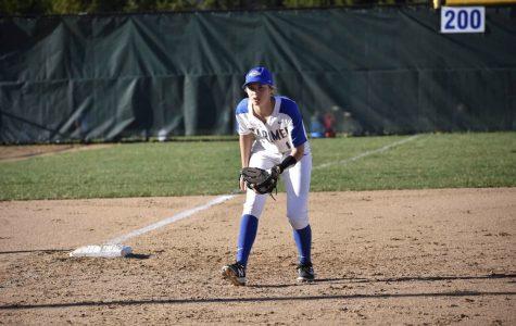Sarah Goddard, softball player and senior