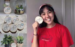 Navigation to Story: Senior Jaehee Kim starts embroidery business to pass time during quarantine