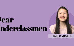 Managing Editor Karen Zhang gives advice to underclassmen about high school