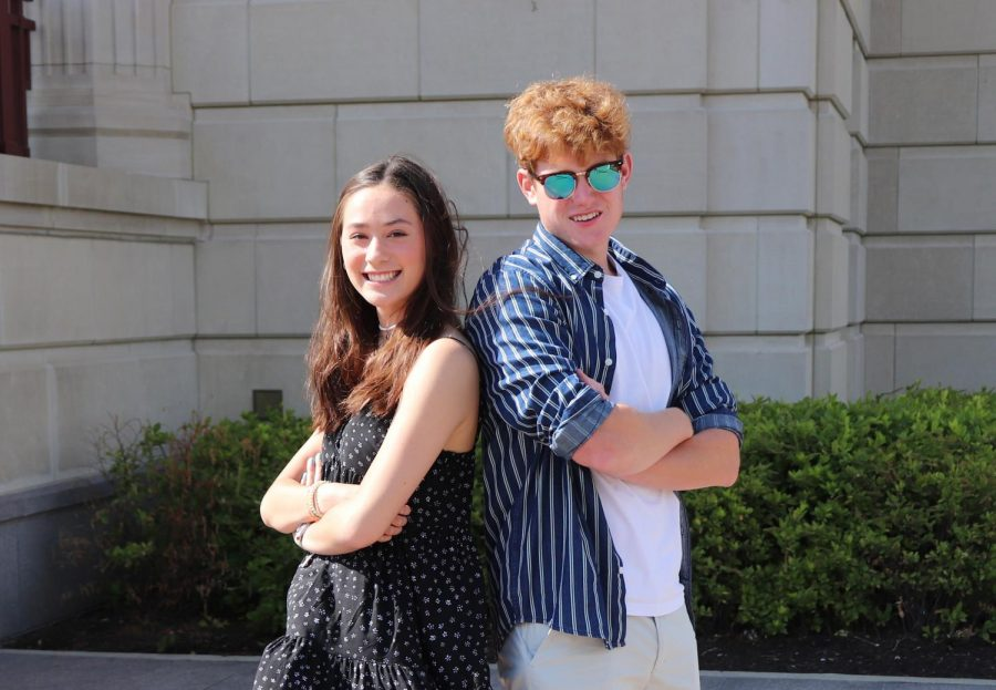 Student+body+president+%28SBP%29+Julia+Heath%2C+speaker+of+the++House+%28SOH%29+Drew+Miller+reflect+on+altered+election+process%2C+plans+for+year