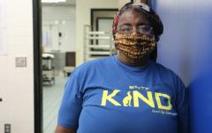 Navigation to Story: Debbie Brown, cafeteria worker
