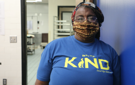 Debbie Brown, cafeteria worker