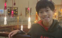 Navigation to Story: Jayden Chui, freshman
