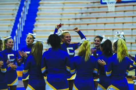 Cheerleaders, coach reflect on pros, cons of competing virtually