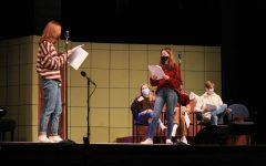 Navigation to Story: Theater class prepares for fall production, implement new COVID-19 protocols