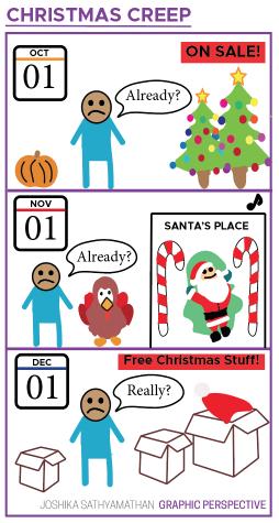 Graphic Perspective: Christmas Creep