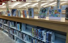 National Picture Book Month is occurring in the Carmel High School and the media center staff has set up a display to showcase some of the books. Ramos said even though high school students may not benefit as much off of picture books as lower grades, students may check out books to share with younger siblings.