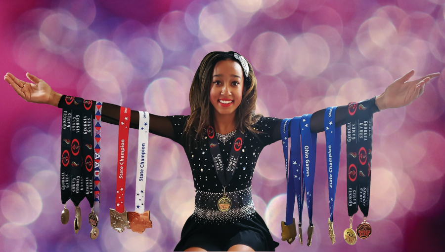 Q&A with baton twirling medalist Ireland Jones