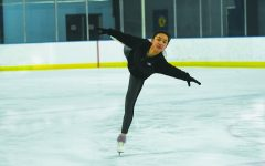 Navigation to Story: Q&A with junior Claire Qu regarding her passion to ice skate during pandemic