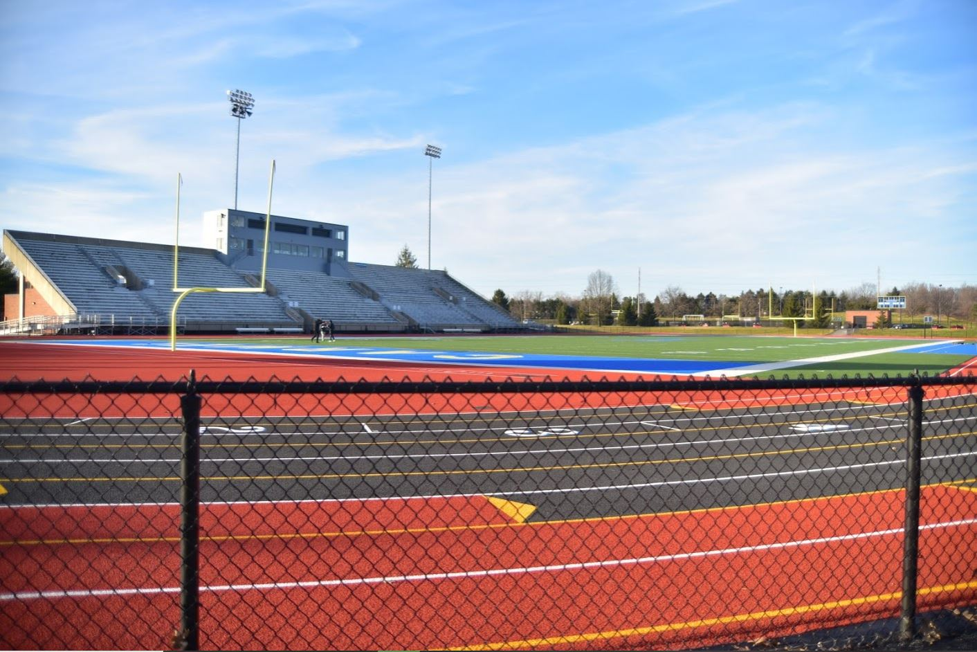 Construction will occur at the football field in 2023. According to Athletics Director Jim Inskeep, the administration has already discussed ideas for the construction.
