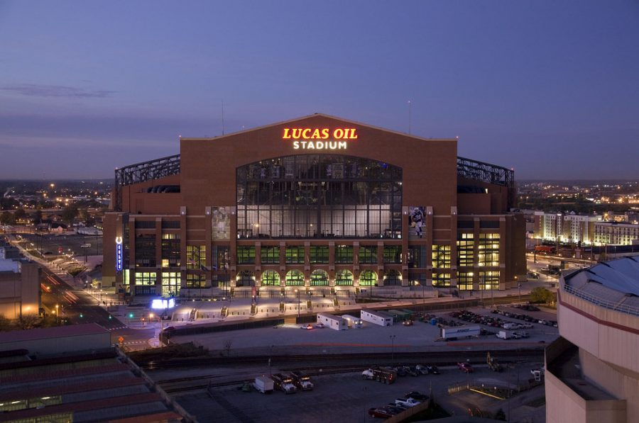 The Colts have not won a Super Bowl since moving into Lucas Oil Stadium in 2008.
