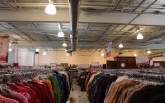 Thrifty Threads contains a variety of men's, women's and children's clothing. Store workers sorted pieces by category and color, allowing for a convenient shopping experience.