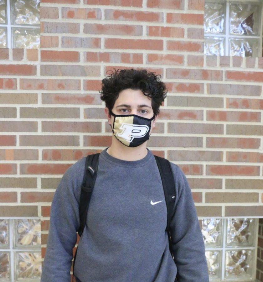 Senior, Eli Prosser