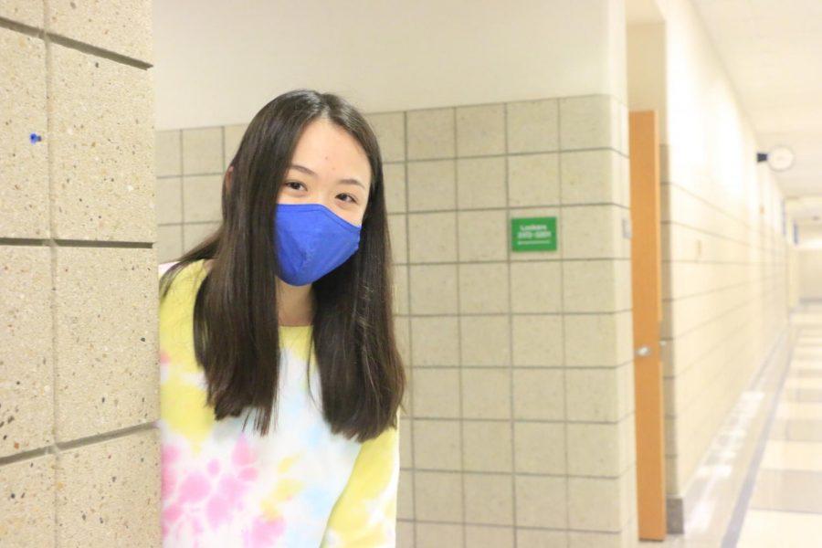 Sophomore, Alison Ma