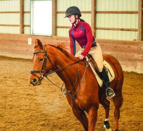 Q&A with Clare Leedke, horseback rider and sophomore