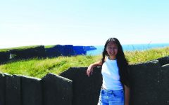 """Senior Maylee O'Brien took this picture in the summer of 2018 at the Cliffs of Moher. O'Brien said, """"I was especially excited for the Cliffs of Moher because they're a site for ancient Irish legends and Harry Potter films."""""""