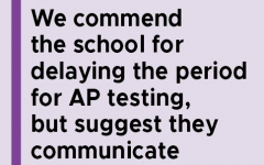 Navigation to Story: Lack of uniform communication about AP exams causes confusion among students, keeping students informed allows for smoother exam weeks