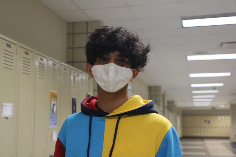 Vedant Yesi, freshman