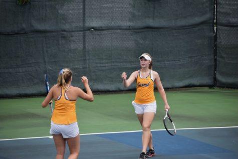 Eli Mercer and Leila Antony qualify for club tennis nationals