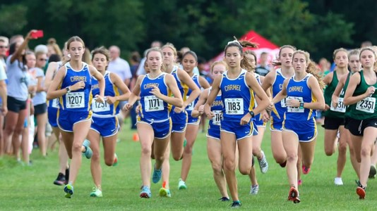 Naas and the womens cross country team run a meet against Westfield in the beginning of the season. Coach Kelly said she has high hopes for the upcoming season and what the girls can do this year.