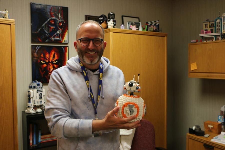 Q&A with library specialist John Love on his passion for collecting LEGO sets
