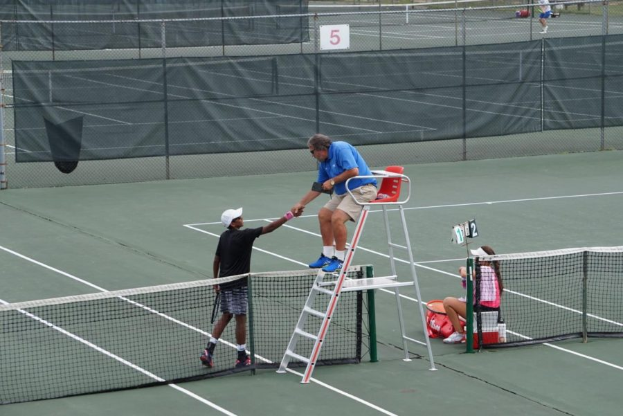 Q&A with 13th nationally ranked tennis player and senior, Nishesh Basavareddy