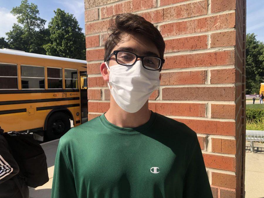 Adam Madni, freshman
