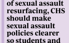 CHS must make sexual assault policies more transparent for students, survivors to feel safe