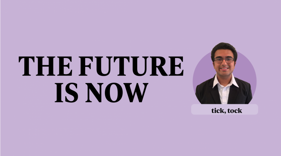Students should prepare, embrace coming future