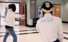 Navigation to Story: Club Spotlight: Fencing Club