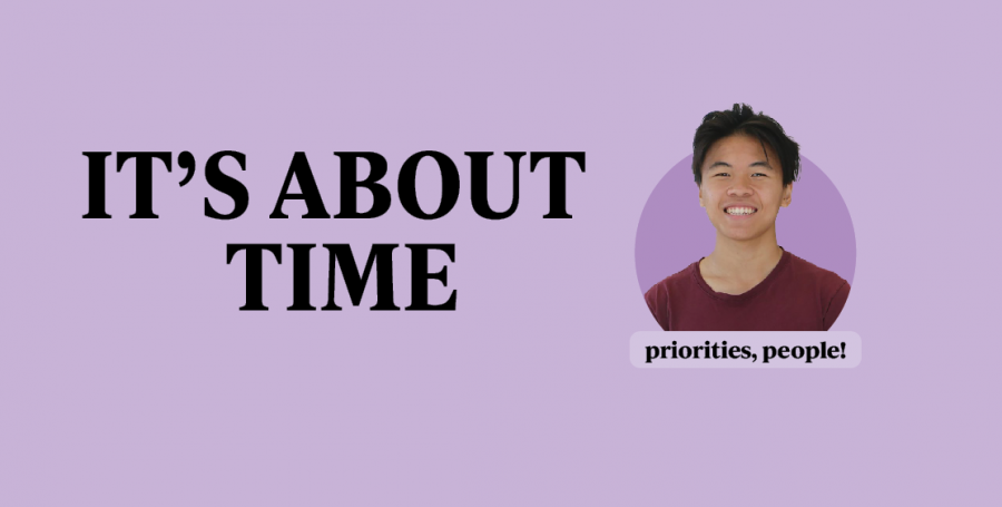 Students should reconsider priorities as they get busier